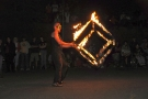 infinitos fireshow - Fire cube
