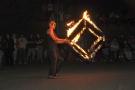 infinitos fireshow - Fire cube